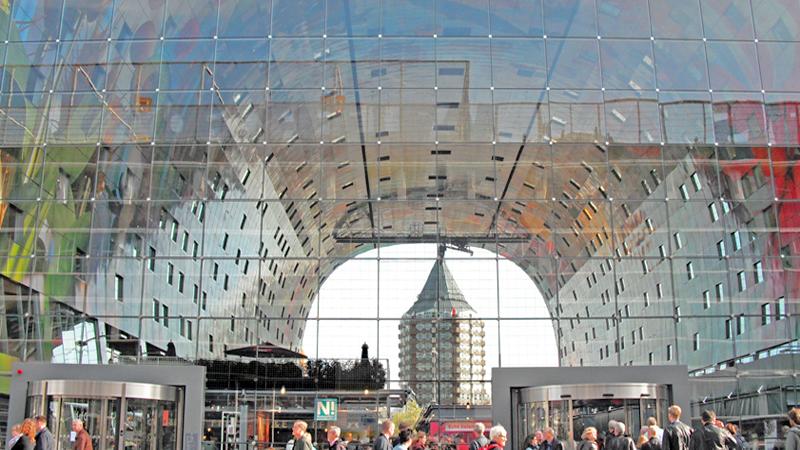 Rotterdam Markthal Holland Netherlands