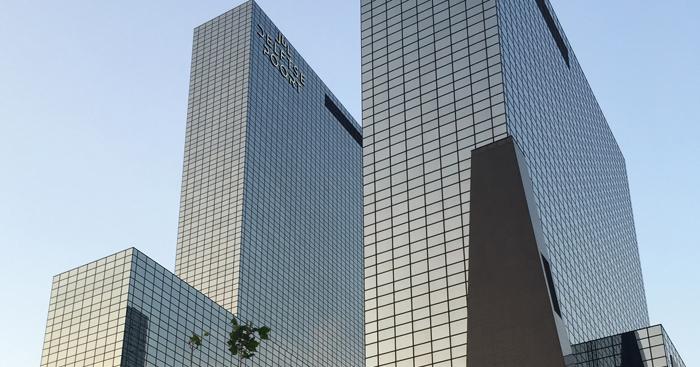De Delftse Poort office towers Rotterdam