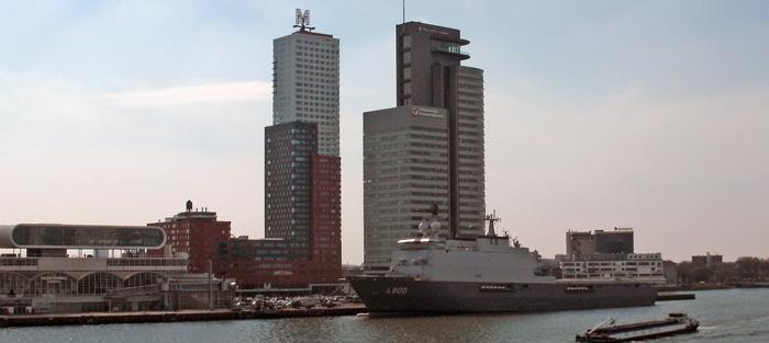 Montevideo building on Wilhelminapier (Rotterdam, Netherlands)