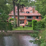 large home on canal in Wassenaar South Holland Netherlands