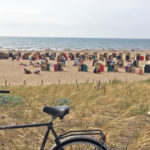 Katwijk aan Zee beach in South Holland Netherlands