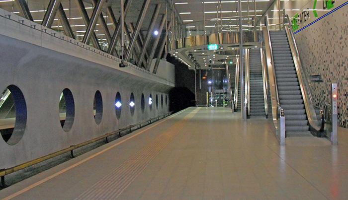 Rotterdam-Wilhelminaplein-Metro-Station-Netherlands