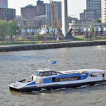 Waterbus transport in Rotterdam Netherlands