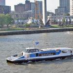 Waterbus transport in Rotterdam Netherlands