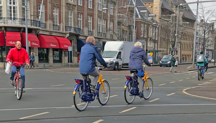 OV-Fiets bicycle transport in Netherlands