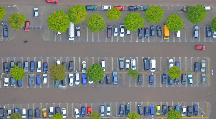 Dutch car parking lot expatINFOholland