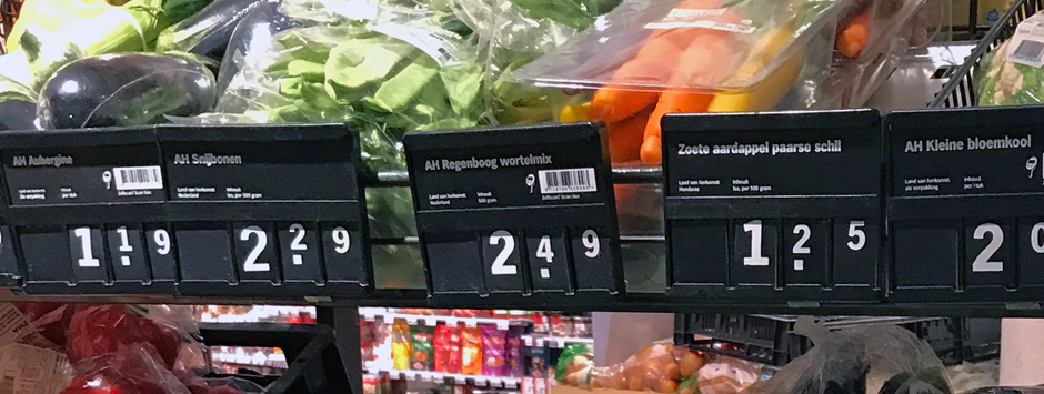Dutch-vegetable-names-on-display-in-Holland-supermarket