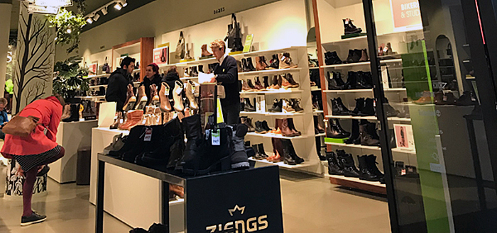 shoe store in the Netherlands