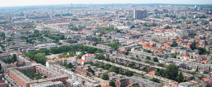 serial view of The Hague Netherlands