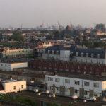 apartment buildings homes Rotterdam city center Netherlands