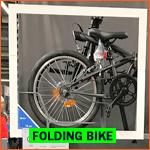 Dutch folding bike (vouwfietsen) in Holland