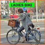 ladies bike in Rotterdam