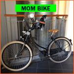 Dutch mother's bike (omafietsen) in Holland