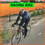 Dutch racing bike (racefietsen) in Holland