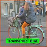 Dutch transport bike (transportfietsen)