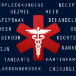 international medical symbol with Dutch terms