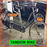 tandem bike in Holland