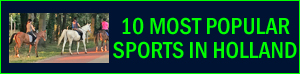 most popular sports in Holland Netherlands