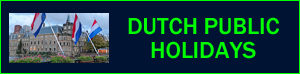 public holidays in Netherlands