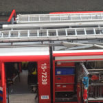 Dutch fire brigade brandweer in Netherlands