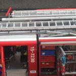 Dutch fire brigade brandweer in Netherlands