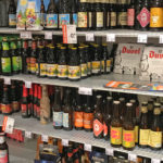 Dutch beers for sale in supermarket in Holland