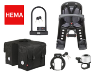 bicycles parts accessories Hema Netherlands