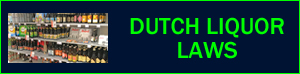 Dutch liquor alcohol laws in Holland