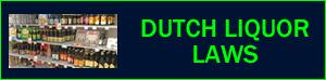 Dutch liquor alcohol laws in Holland