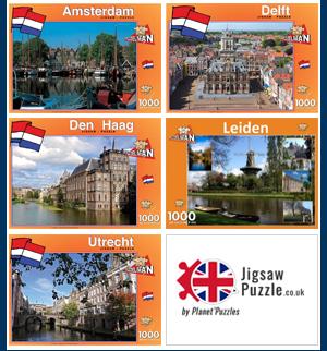 Netherlands cities jigsaw puzzle souvenirs