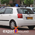 Dutch student driver in Netherlands