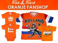 Dutch Holland orange infant baby toddler clothing Netherlands