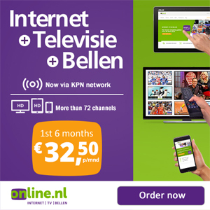 Netherlands telecom service provider internet tv phone