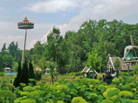 Efteling amusement park in Netherlands