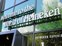 Heineken brewery experience attraction Amsterdam Netherlands