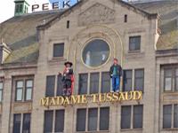 Madame Tussaud wax museum attraction Amsterdam Netherlands
