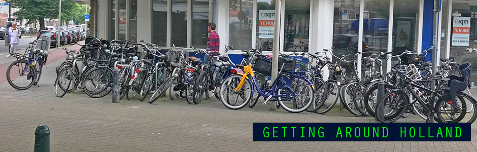 cycling driving transportation guide for expats in Netherlands