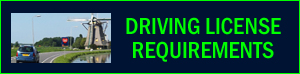 driving license requirements in Netherlands