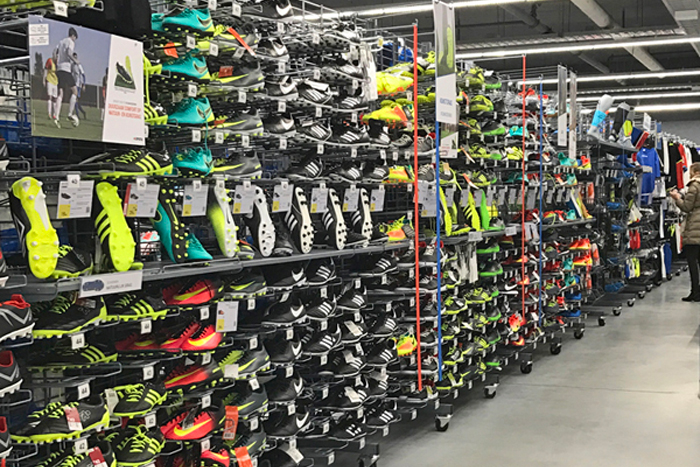 sports equipment retail stores The Hague Amsterdam Rotterdam Netherlands