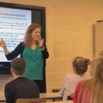 The World in Your Classroom guest lecture in The Hague Netherlands