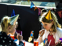childrens party venue in The Hague Netherlands