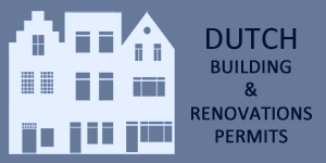 Duthc municipal building permits for renovations in Netherlands