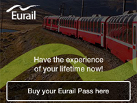 train tickets for rail travel from Netherlands to Euope