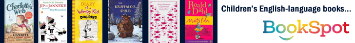 English-language books for kids in Netherlands