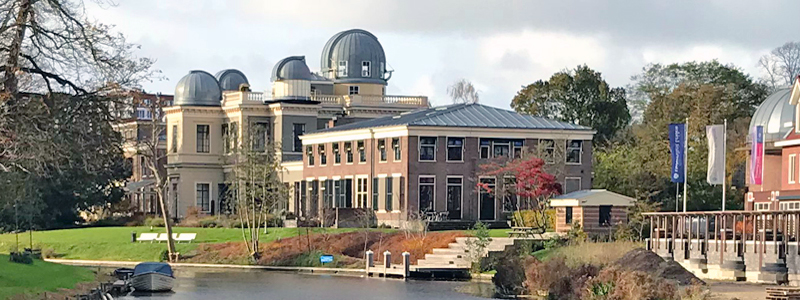 Leiden University observatory in South Holland Netherlands