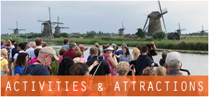 activities tours and attractions in Amsterdam The Hague Rotterdam Netherlands