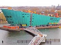 Nemo science museum in Amsterdam Netherlands