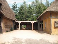 Archeon Dutch history theme park in Netherlands