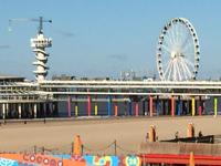 Scheveningen Pier in the Netherlands
