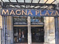 MagnaPlaza shopping center in Amsterdam Netherlands